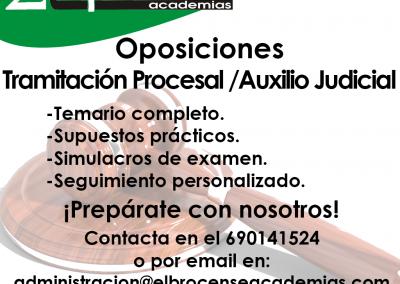 Oposiciones Tramitación Procesal - Auxilio Judicial