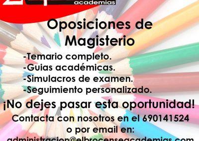 Oposiciones de Magisterio